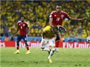 Colombia tăng cường bảo vệ Zuniga sau pha phạm lỗi với Neymar