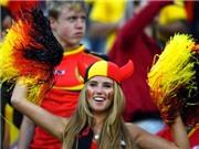 CĐV xinh đẹp của Bỉ mất hợp đồng làm người mẫu vì bức ảnh trên Twitter
