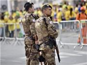 Chung kết World Cup 2014: Brazil bố trí lực lượng an ninh hùng hậu nhất trong lịch sử