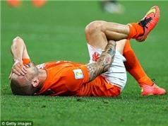 Hà Lan lần đầu không có Wesley Sneijder kể từ World Cup 2002