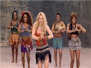 Shakira lắc hông gợi cảm, hát 'La La La' tại lễ bế mạc World Cup
