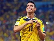 James Rodriguez giành giải Bàn thắng đẹp nhất World Cup 2014
