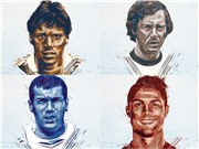 Cristiano Ronaldo có tên trong Đội hình tiêu biểu các kỳ EURO