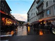 Những nẻo đường EURO: Nice, trong cơn mưa đầu hạ