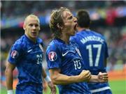 Thổ Nhĩ Kỳ 0-1 Croatia: Chỉ cần 'siêu phẩm' của Modric là đủ