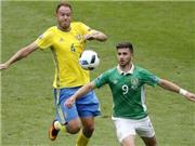 ĐIỂM NHẤN Ireland 1-1 Thụy Điển: Kẻ tám lạng, người nửa cân. Thụy Điển chỉ có mình Ibra