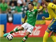 Cầu thủ hay nhất trận Thụy Điển - Ireland được ví với Ruud Gullit và Raul