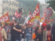 Paris náo loạn vì biểu tình quy mô lớn, EURO 2016 bị đe dọa