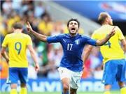 Italy 1-0 Thụy Điển: Eder ghi bàn giúp Italy giành vé vào vòng 1/8