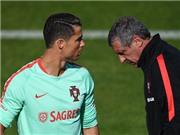 HLV Bồ Đào Nha tiết lộ lý do Ronaldo nổi giận ở trận gặp Iceland