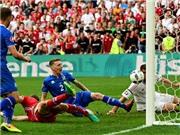 Iceland 1-1 Hungary: Saevarsson đá phản, Iceland đánh rơi chiến thắng cuối trận