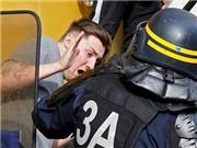 Ẩu đả tái diễn trong trận đấu giữa Iceland và Hungary