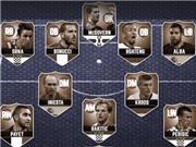 Đội hình tiêu biểu vòng bảng EURO: Ronaldo vắng mặt, Bale số một; Neuer, De Gea thua hết McGovern