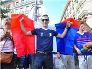 CHÙM ẢNH: CĐV Pháp đổ ra đường, nhảy múa ăn mừng chiến thắng trước Ireland