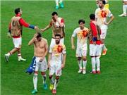 Tây Ban Nha thua vì 'lời nguyền' áo trắng