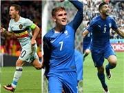 Điểm mặt đội hình xuất sắc trước vòng Tứ kết EURO 2016: Pelle sánh vai với Hazard, Griezmann