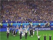 Bị Pháp loại ở Tứ kết, Iceland vẫn ăn mừng như thể đã... VÔ ĐỊCH EURO 2016