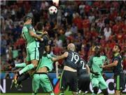 Xem lại pha bật nhảy siêu cao đánh đầu ghi bàn của Cristiano Ronaldo