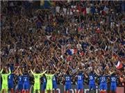 Sau xứ Wales, đến lượt Pháp tái hiện màn ăn mừng độc đáo của Iceland