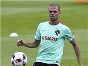 Pepe sẵn sàng cho trận Chung kết EURO 2016 với Pháp