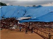 VIDEO: Hiện trường vụ 200 người 'chết bẹp' vì sập nhà thờ ở Nigeria