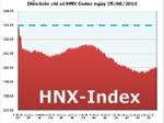 Ngày 25/6: HNX-Index giảm về ngưỡng 160 điểm