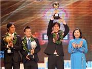 Quả bóng Vàng Việt Nam 2010: Minh Phương được vinh danh