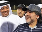 Maradona chính thức trở thành HLV của Al Wasl