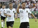 """Áo - Đức 1-2: Không thể cản """"Xe tăng"""""""