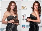 Irina Shayk khoe dáng với váy gợi cảm