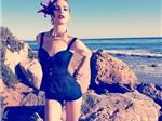 Jessica Miller quyến rũ trên Harper's Bazaar