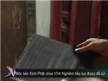Mộc bản Kinh Phật chùa Vĩnh Nghiêm tiếp tục được đề cử