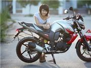 Yamaha FZ-S đọ dáng khỏe khoắn cùng cô nàng cá tính
