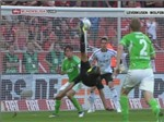 """Siêu phẩm"" của Derdyok giúp Leverkusen hạ Wolfsburg"
