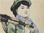 """Triển lãm """"Phụ nữ trong kháng chiến - trong hòa bình"""""""