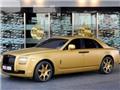 Rolls-Royce Ghost mạ vàng ở Dubai