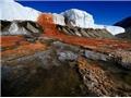 Thác Máu độc đáo ở Nam Cực