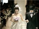 Sốt xình xịch váy cưới cho bà bầu