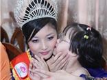Người đẹp Triệu Thị Hà thực hiện sứ mệnh Hoa hậu