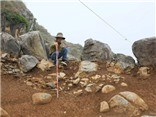 Lộ diện xưởng đá xây Thành nhà Hồ