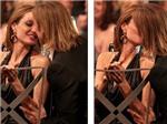 Nụ hôn hiếm bị bắt gặp của Angelina Jolie - Brad Pitt