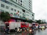 Hà Nội: Cháy lớn tại chung cư Nguyễn Chí Thanh