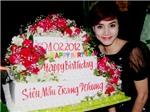 Trang Nhung mừng sinh nhật tuổi 26