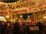 Biểu tình tại Hy Lạp trước thềm hội nghị Eurozone