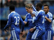 """Chelsea 5-2 Leicester: Torres """"giải khát"""", Chelsea thắng lớn"""