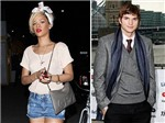 Rihanna hẹn hò Ashton Kutcher lúc nửa đêm