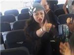 """Một phụ nữ Việt """"gây chiến"""" trên máy bay?"""