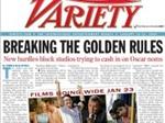 Tờ báo giải trí hằng ngày Variety đang được rao bán