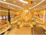 Khám phá 'lâu đài bay' đắt nhất thế giới của hoàng tử Ả rập