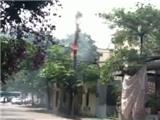 Chập điện, nổ lớn ở Hà Nội